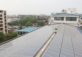 solar panels india